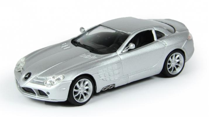 MERCEDES-BENZ SLR McLAREN, Тестовый выпуск Суперкары 2, silver