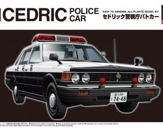 Сборная модель Nissan 430 Cedric Sedan Metropolitan Police department Полиция