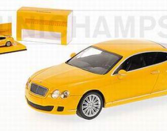 BENTLEY Continental GT «Linea Giallo» 2008, yellow