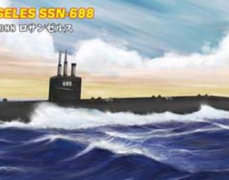 Сборная модель Подводная лодка USS Los Angeles SSN-688