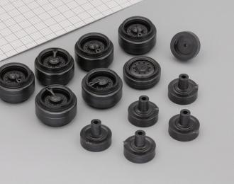 диски для Урал-4320  диски широкие с подкачкой, комплект из 7 колёс