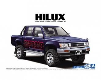 Сборная модель Пикап Toyota Ln107 Hilux Pick Up Double car 4WD '94