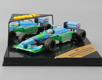 BENETTON FORD B194 Michael Schumacher #5, blue / green