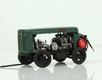 ЗИФ-55, зеленый с красным баком (максимальная версия)