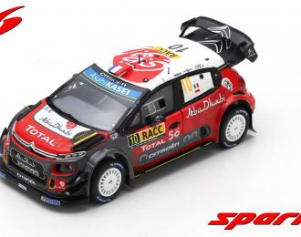 Citroen C3 WRC #10 Winner Rally Catalunya 2018 S. Loeb - D. Elena
