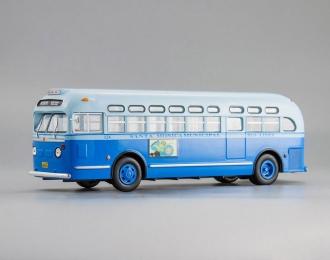 "GM TDH-3714 ""Santa Monica Municipal"" (1955), blue"
