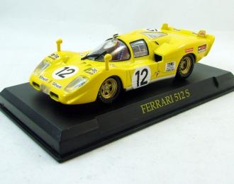 FERRARI 512S, Ferrari Collection 49, yellow