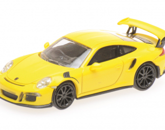PORSCHE 911 GT3 RS 2013 YELLOW