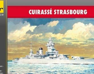Сборная модель Французский линкор STRASBOURG