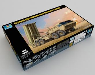 Сборная модель Американский противоракетный комплекс THAAD