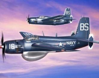 Сборная модель Противолодочный самолет Grumman AF-2W Guardian