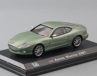 ASTON MARTIN DB7, light green metallic