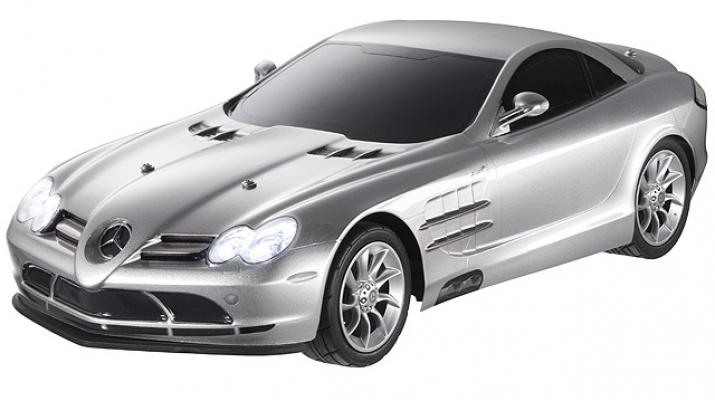 MERCEDES-BENZ SLR McLaren (C199) на радиоуправлении, silver