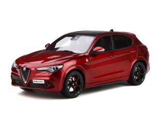 Alfa Romeo Stelvio Quadrifoglio 2017 (rosso competizione)