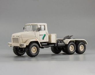 КРАЗ 6446 седельный тягач, белый