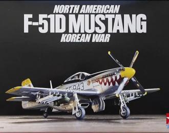 Сборная модель N.A. F-51D MUSTANG