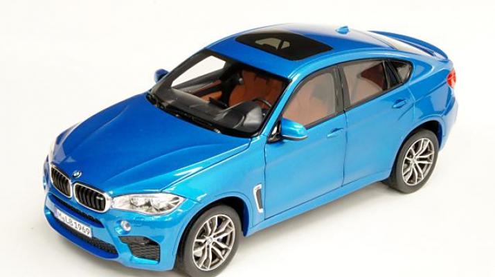 BMW X6 M (F86), long beach blue