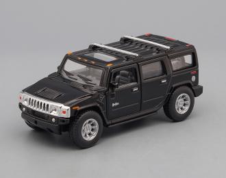 HUMMER H2 SUV (2008), black