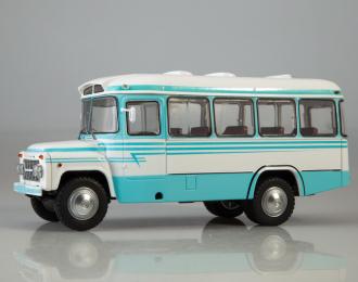Курганский автобус 685В, белый / голубой