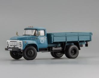 ЗИЛ 130 бортовой 1983 г., голубой