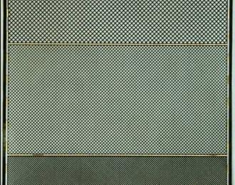 Фототравление Набор из 3 сеток с шагом 0.8, 0.6, 0.4 мм, латунь 0.1 мм