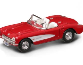 CHEVROLET Corvette (1957), red