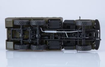 Аэродромный передвижной электроагрегат АПА-50М (на базе ЗИЛ-131), хаки