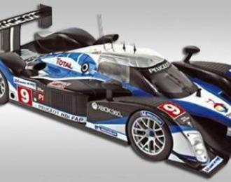 PEUGEOT 908 HDi-FAP Team Peugeot Sport Total №9 Winner Le Mans (M.Gene - A.Wurz - D.Brabhan) 2009, цветной