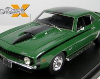 CHEVROLET Camaro SS 1969, rallye green