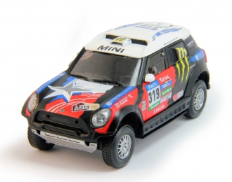 MINI ALL4 Racing #319 Dakar (2015), red / black