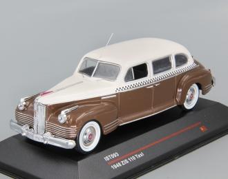 ЗИС 110 Такси (1948), коричневый / бежевый