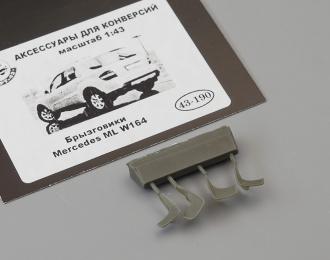 Брызговики Mercedes ML W164 4шт (190)