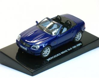 MERCEDES-BENZ SLK 320 (2003), blue