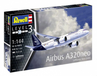 "Сборная модель Airbus A320 Neo Lufthansa ""New Livery"""