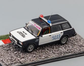 ВАЗ-2104, черный / белый