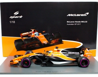 McLaren Honda #14 Australian GP 2017 Honda MCL32 Fernando Alonso