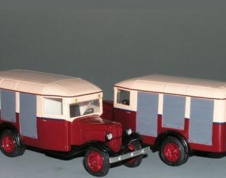 Сборная модель Горький 03-33 продуктовый фургон (1935)