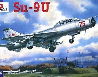 Сборная модель Советский учебный истребитель-перехватчик Су-9У