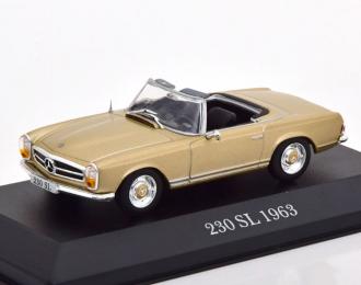 Mercedes-Benz 230SL Pagode W113 1963 золотистый