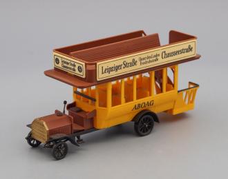DAIMLER 1911, brown / yellow