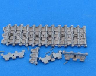 Траки наборные железные T44M, Т-54-1, AT-T ( 1:1 )