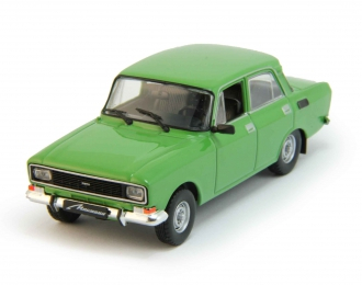 МОСКВИЧ 2140, Автолегенды СССР 27, зеленый