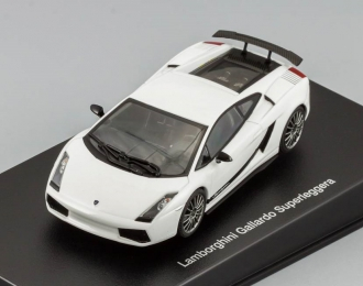 LAMBORGHINI Gallardo Superleggera, monocerus / white met.