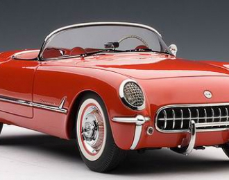 CHEVROLET Corvette 1954, red