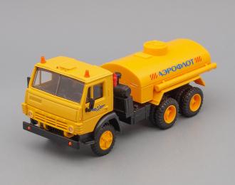 Камский грузовик 5511 топливозаправщик Аэрофлот