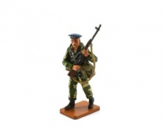 Советский десантник с СВД Афганистан 1980