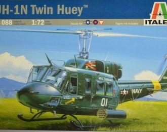 Сборная модель Американский вертолет Bell UH-1N Twin Huey