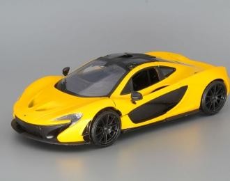 McLaren P1, yellow / black