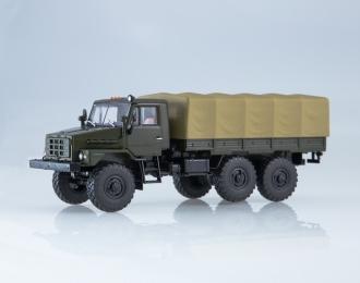 Уральский грузовик 43223 бортовой с тентом, хаки