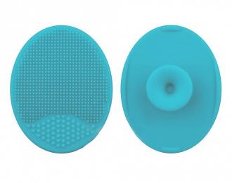 Коврик для мытья кисти силиконовый, голубой